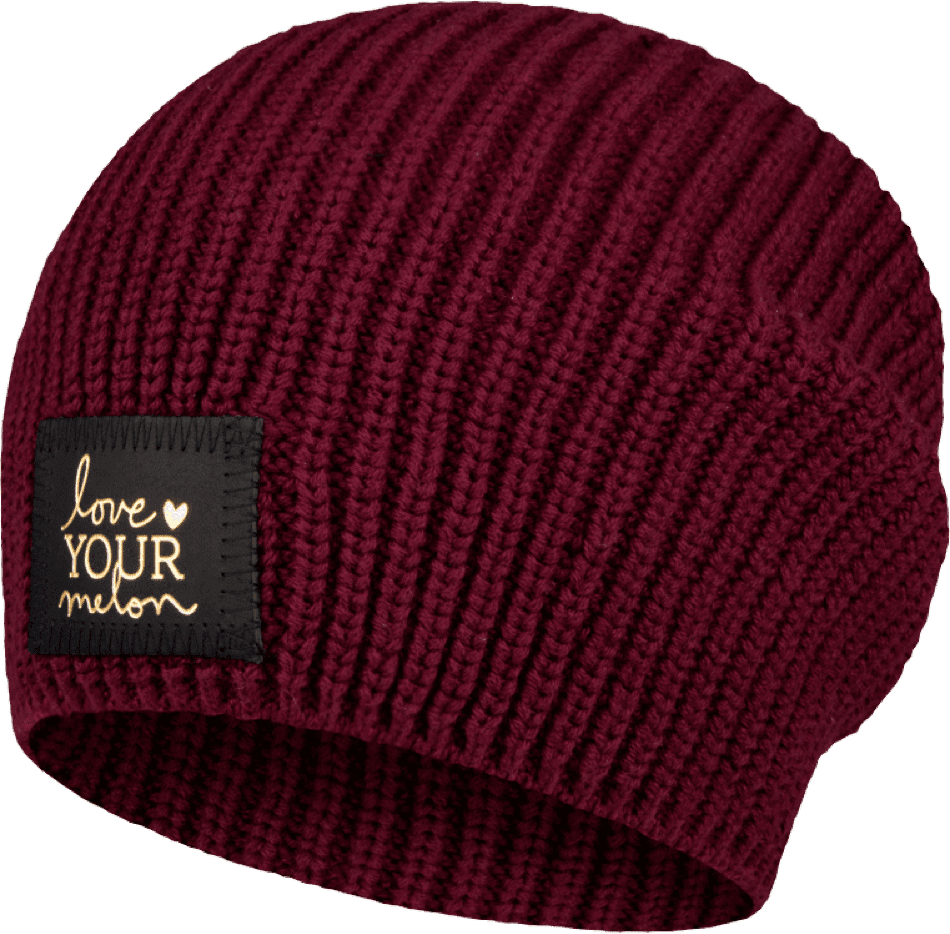 Love Your Melon Maroon Beanie