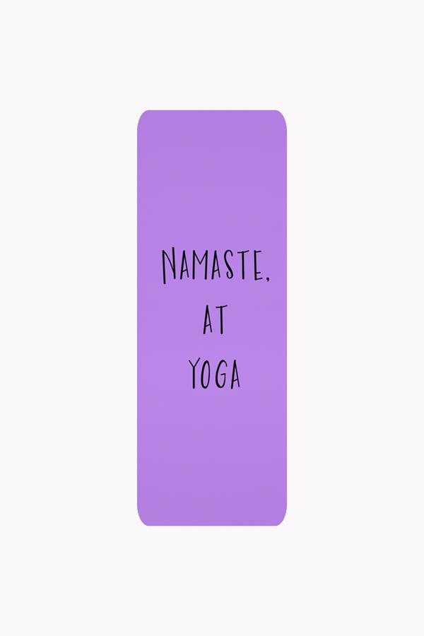 Namaste, At Yoga