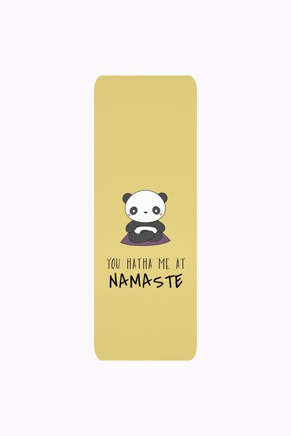 You Hatha Me At Namaste - Panda