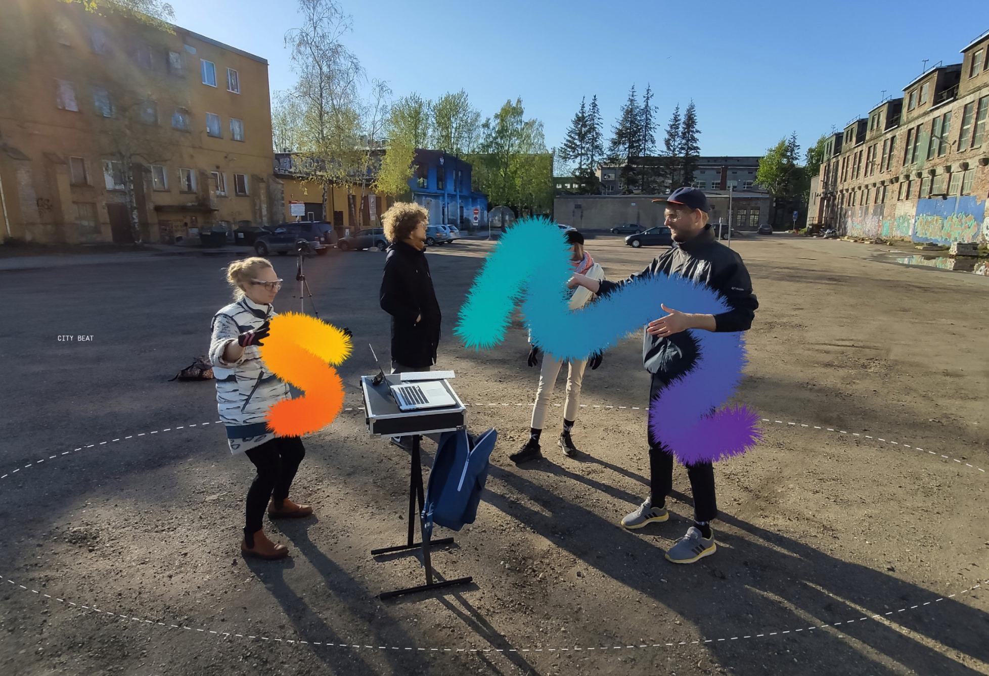 City ♥ Beat / AR Music Playground