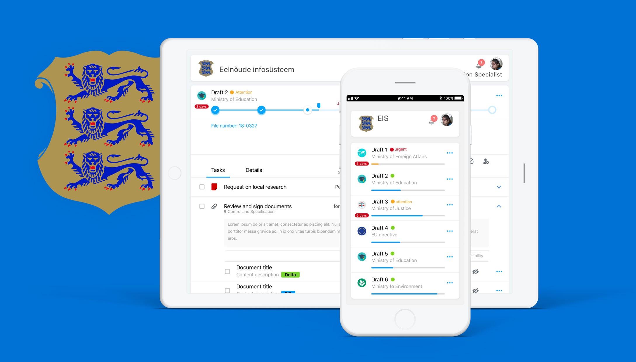 Service Design for Estonian e-Democracy