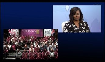 From the UK Mulberry School of Girls, they skyped in on the global conversation on Girls' education