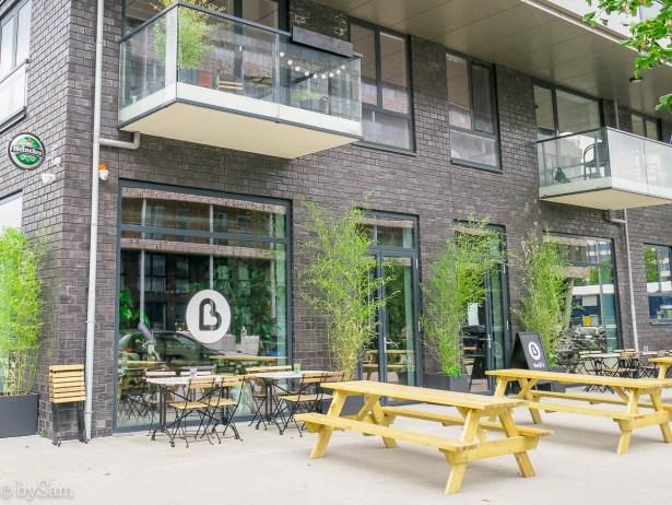 terras Benji's Bro Amsterdam Nieuw West