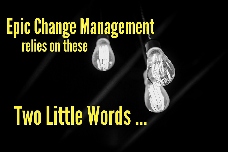 Epic Change Management Relies on These Two Little Words