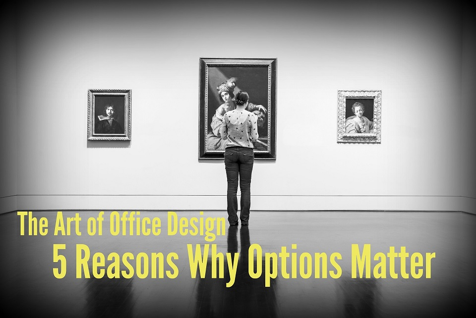 The Art of Office Design: 5 Reasons Why Options Matter