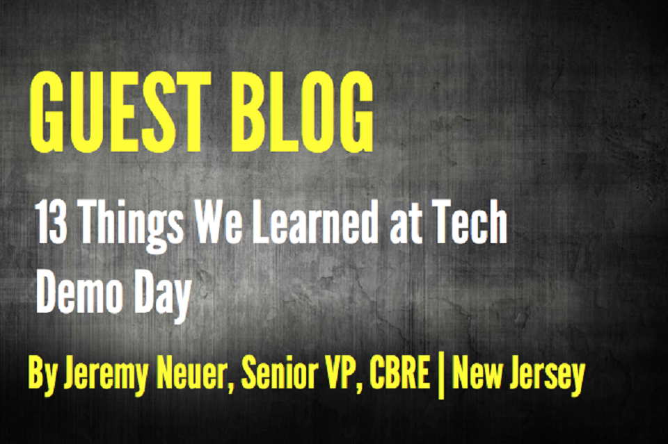 13 Things We Learned at Tech Demo Day
