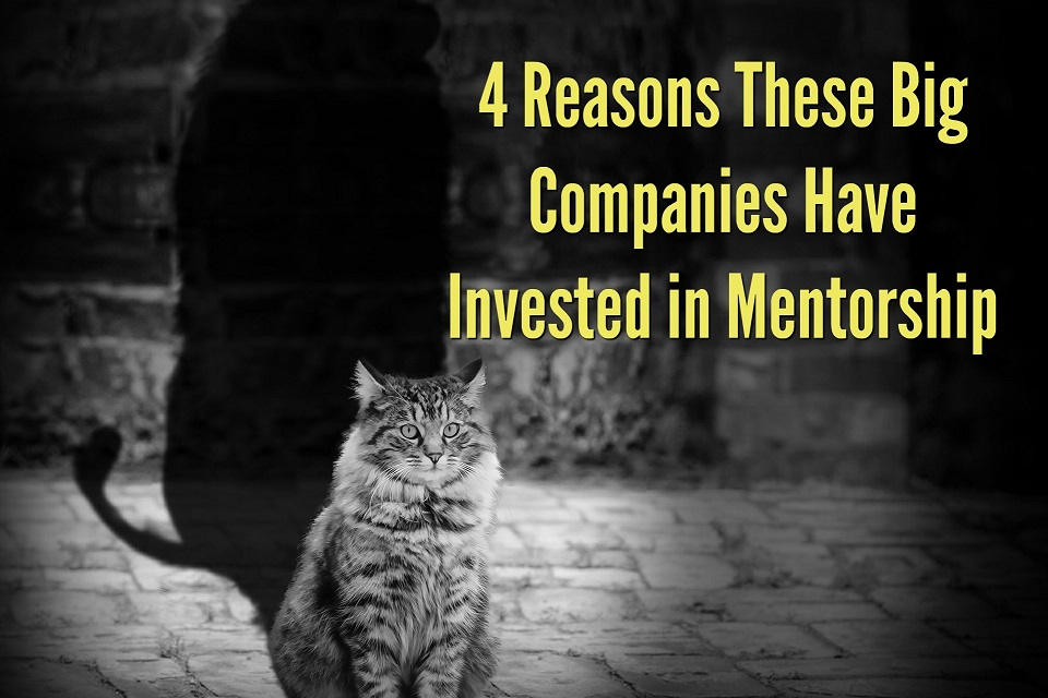 4 Reasons These Big Companies Have Invested in Mentorship