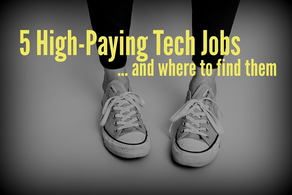 5 High-Paying Tech Jobs and Where to Find Them