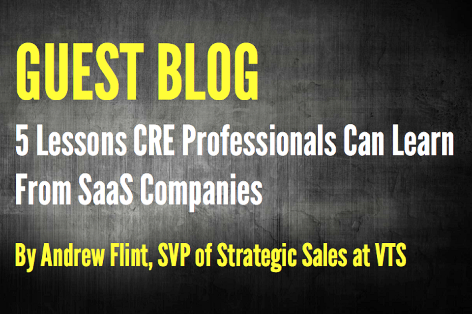 5 Lessons CRE Professionals Can Learn from SaaS Companies