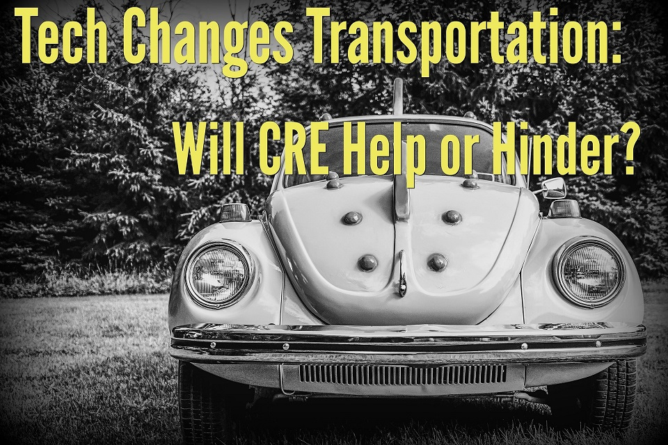 Tech Changes Transportation: Will CRE Help or Hinder?