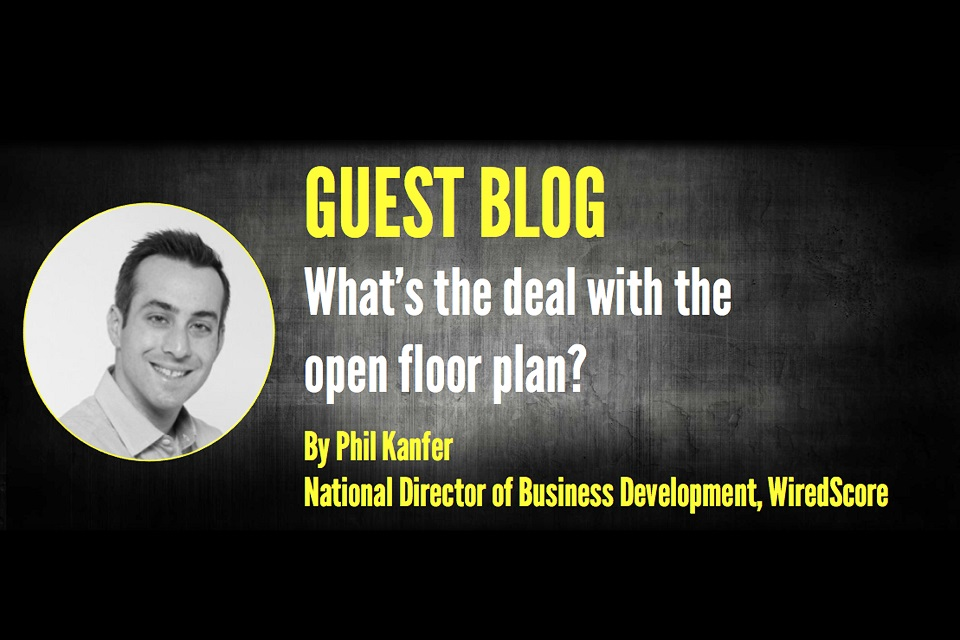 What's the deal with the open floor plan?