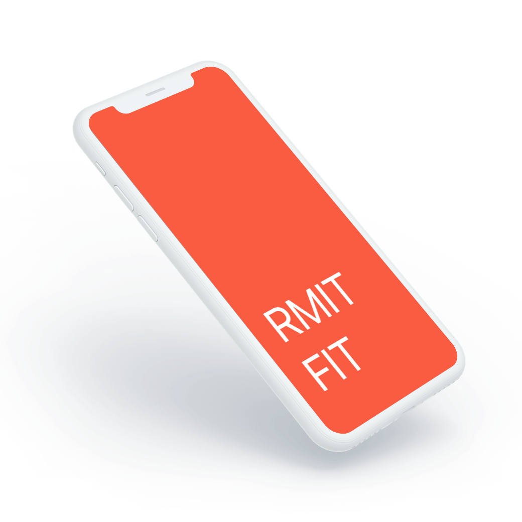 RMIT Fit splash screen