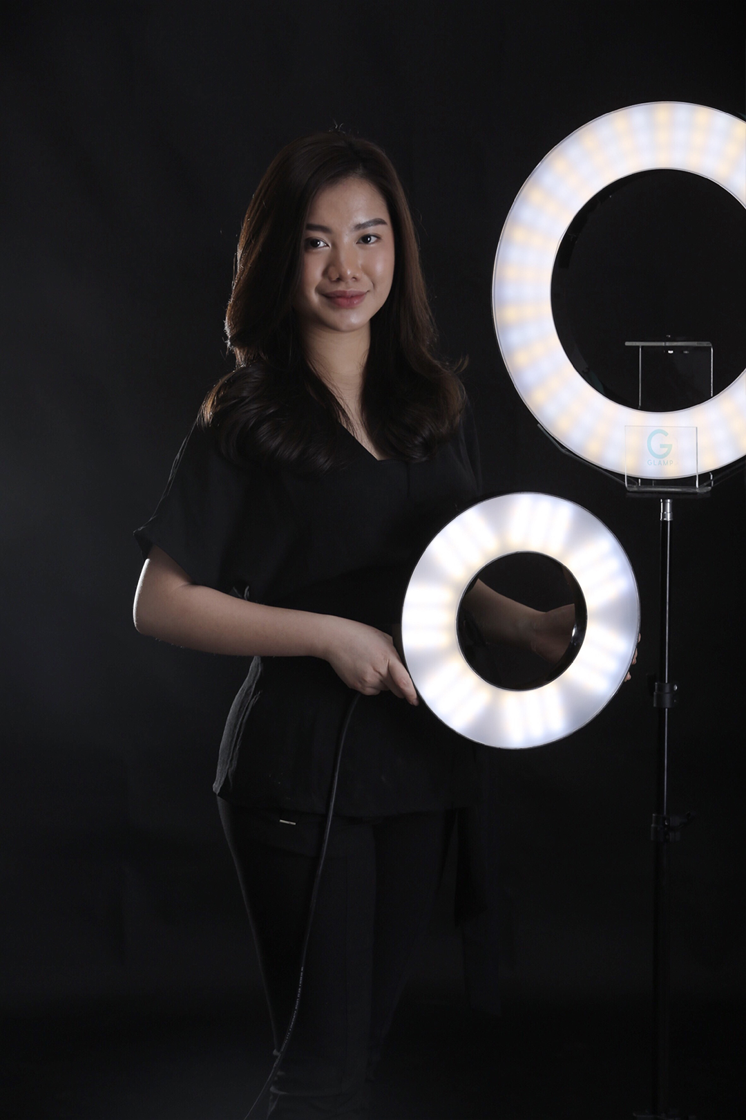 Debra and Glamp Indonesia