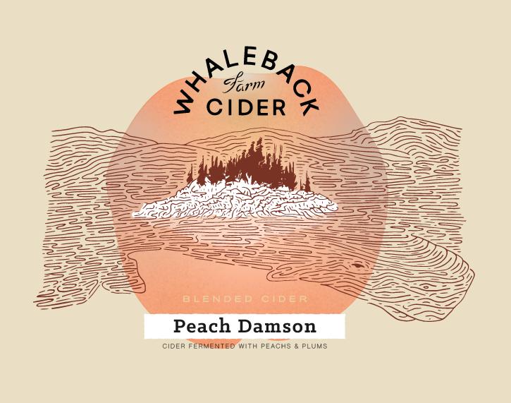 Peach Damson Graphic
