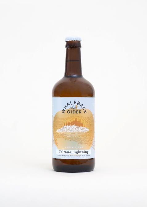 Whaleback Farm Cider - Teltane Lightning - Studio Shot