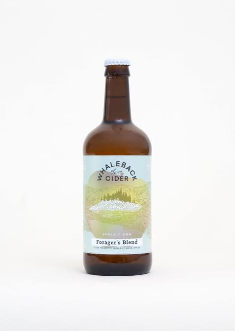 Whaleback Farm Cider - Forager's Blend - Studio Shot
