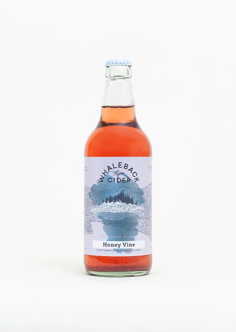 Whaleback Farm Cider - Honey Vine - Studio Shot