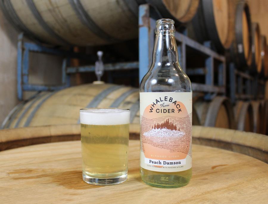 Whaleback Farm Cider - Peach Damson