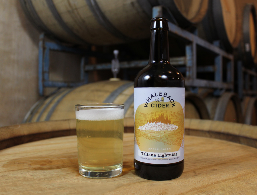Whaleback Farm Cider - Teltane Lightning