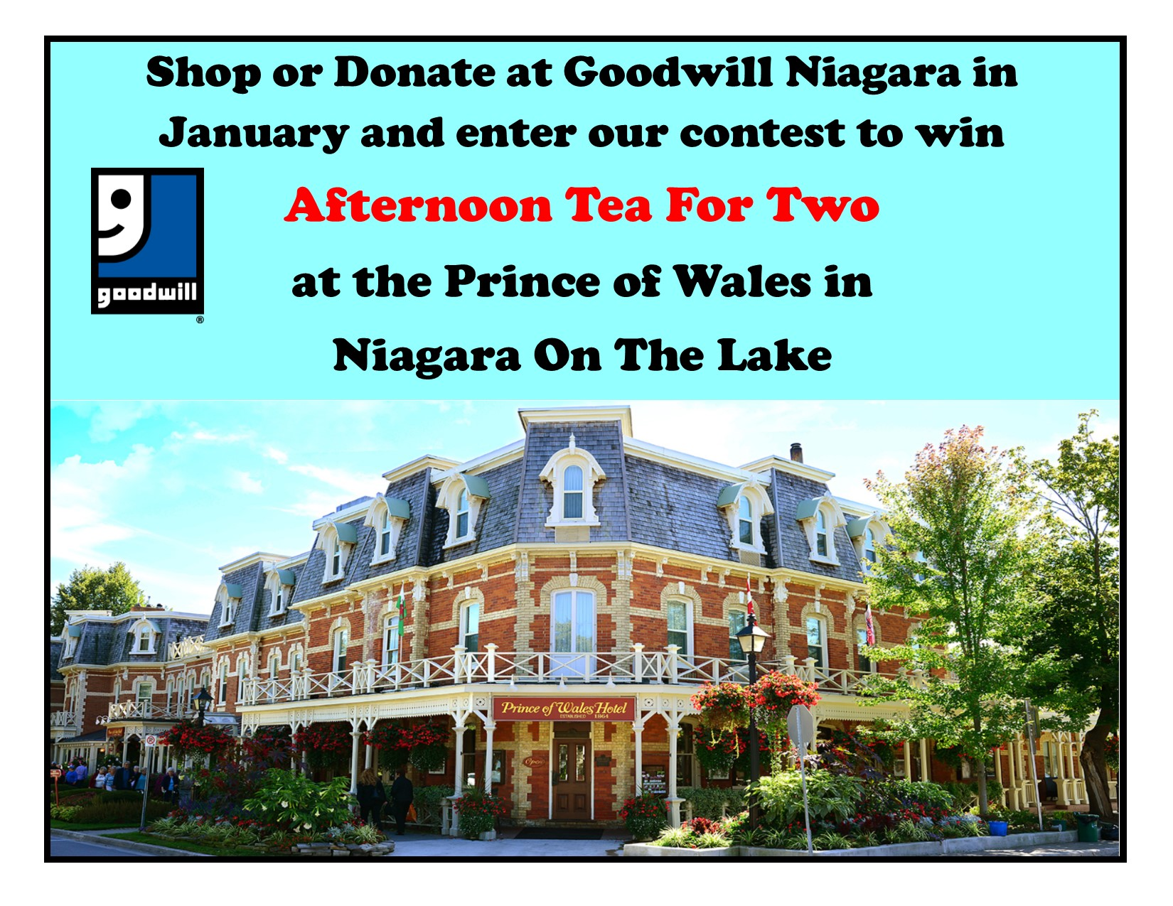 Goodwill Niagara's January Contest