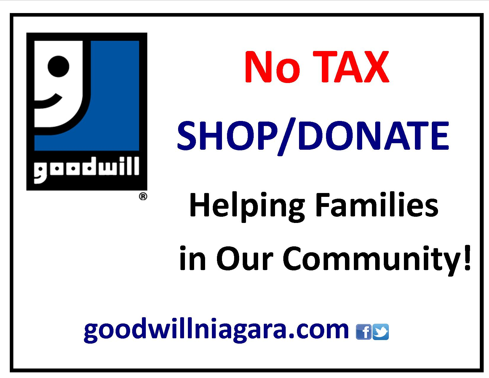 Goodwill Niagara's March Contest
