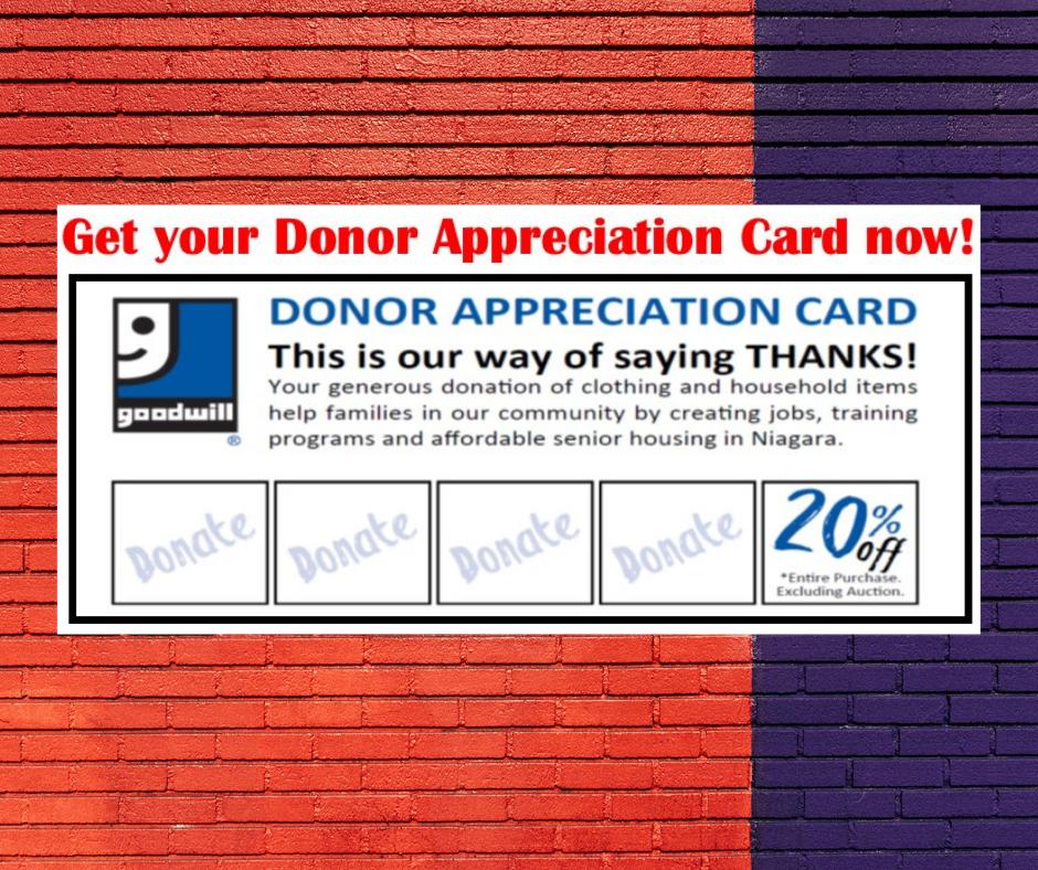 GWN Donor Appreciation Card