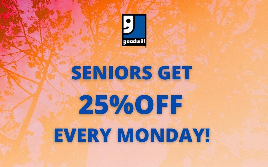 Seniors Save 25% Off