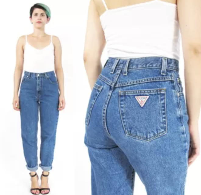 90s oversize guess jeans