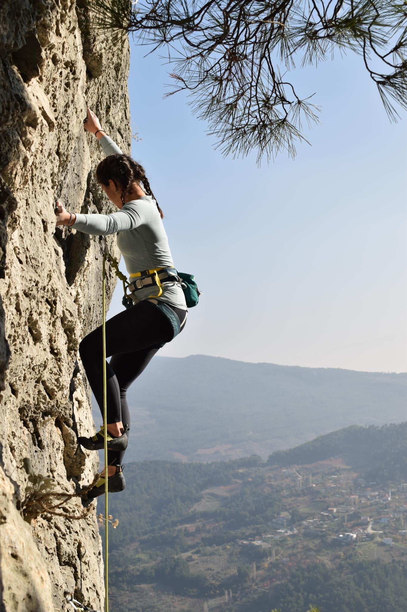 nursen yılmaz lider tırmanış sarıkaya