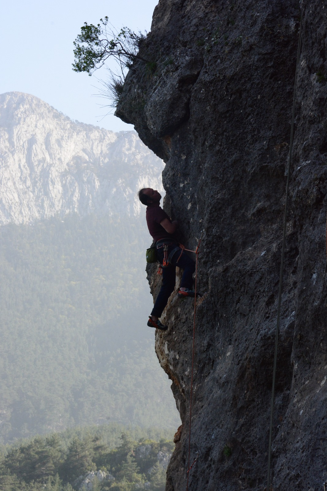Antalya Geyikbayırı Tırmanışı Mustafa Kalaycı (Tafa)