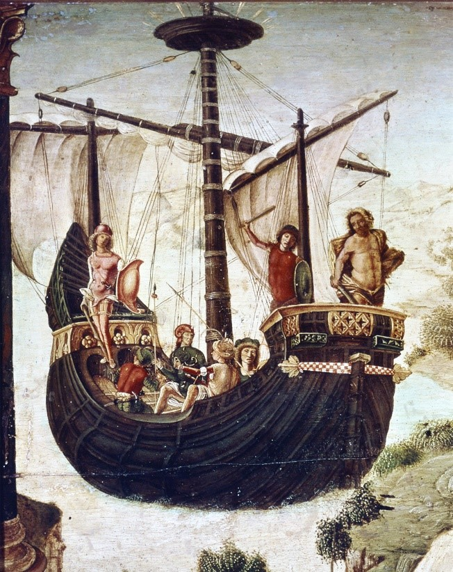 Hylas ve Hercules Argo'da