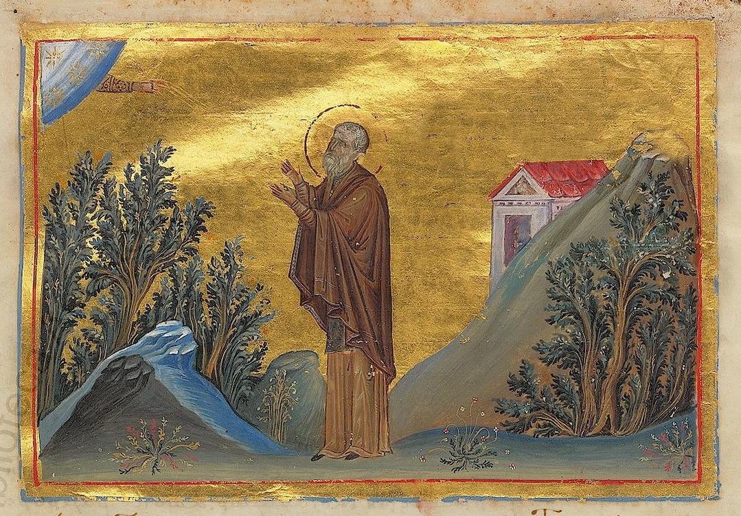 Aziz Joannicus, Uludağ, Manastır ve Tanrı'nın eli