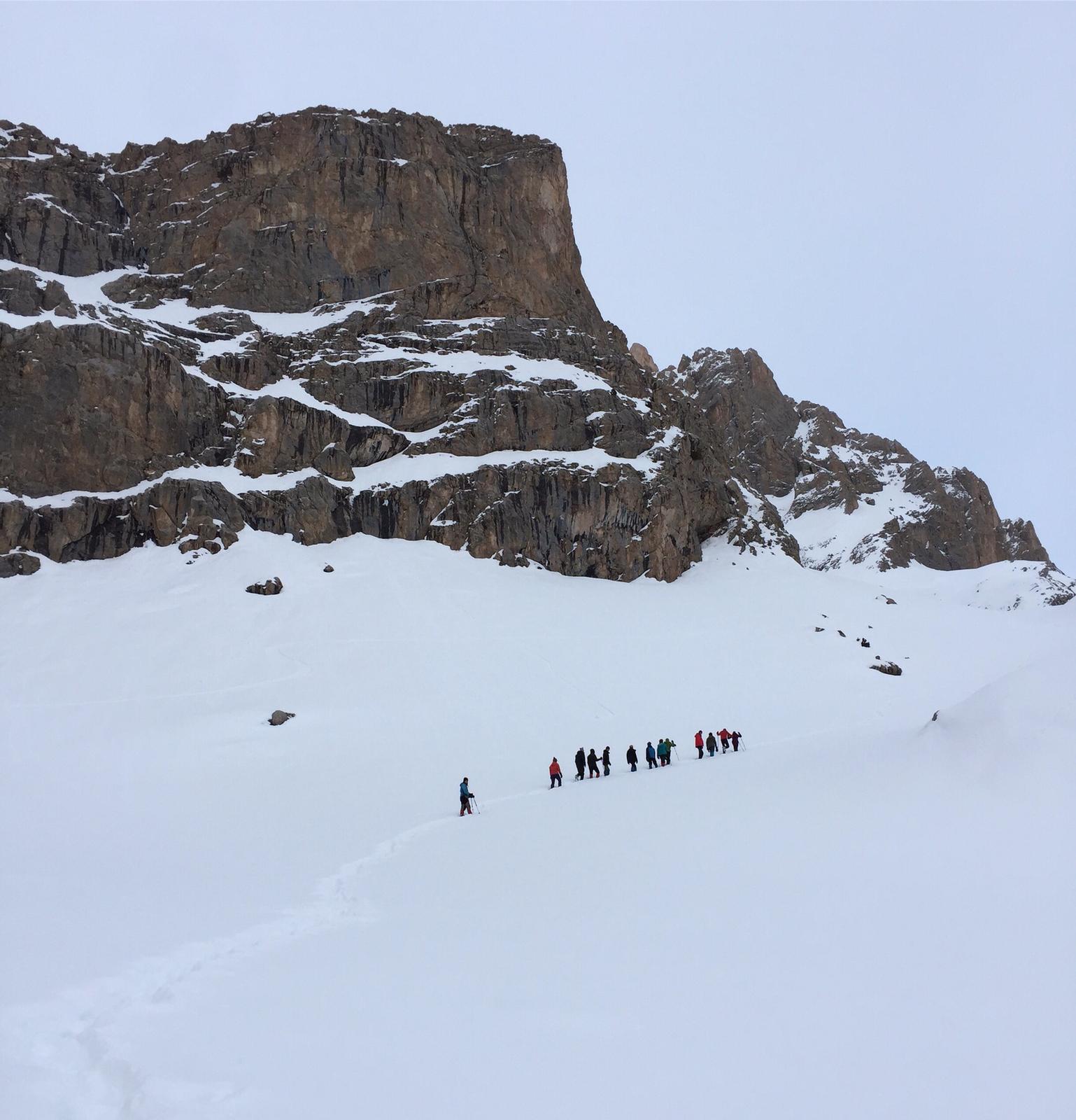 Aladağlar kış dağcılık kocadölek mevkii