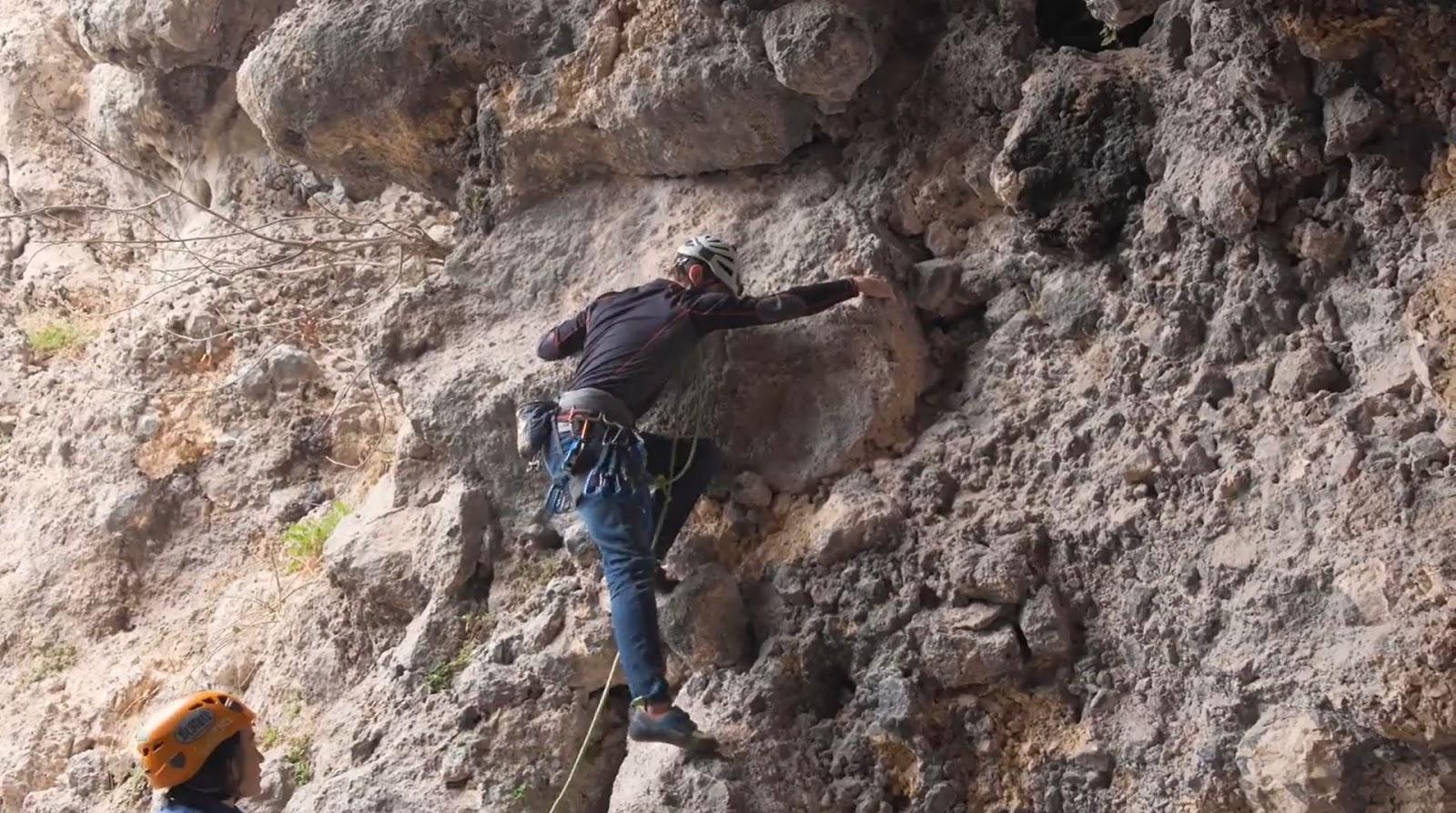 Batuhan Atılgan kaya tırmanışı geyikbayırı