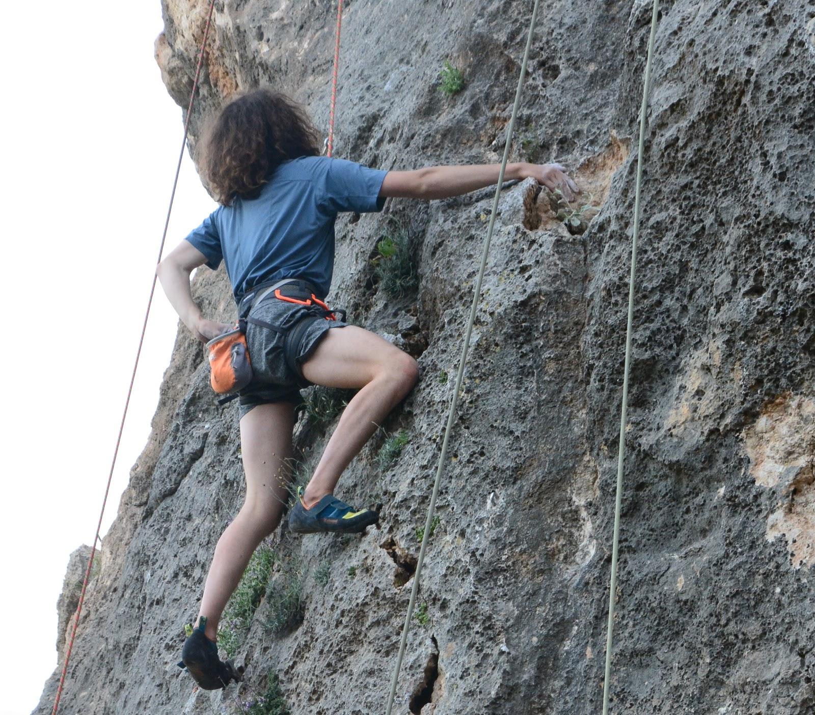 Selim Ölçüoğlu Geyikbayırı Kaya Tırmanışı
