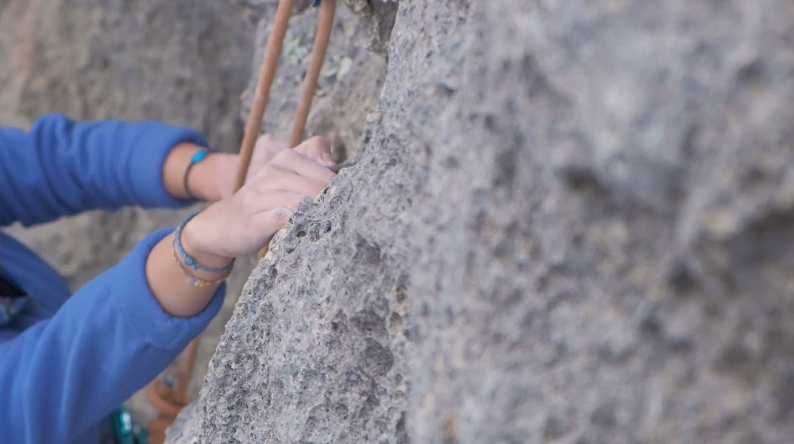 Kaya Tırmanışı Teknikleri Jug / Cep