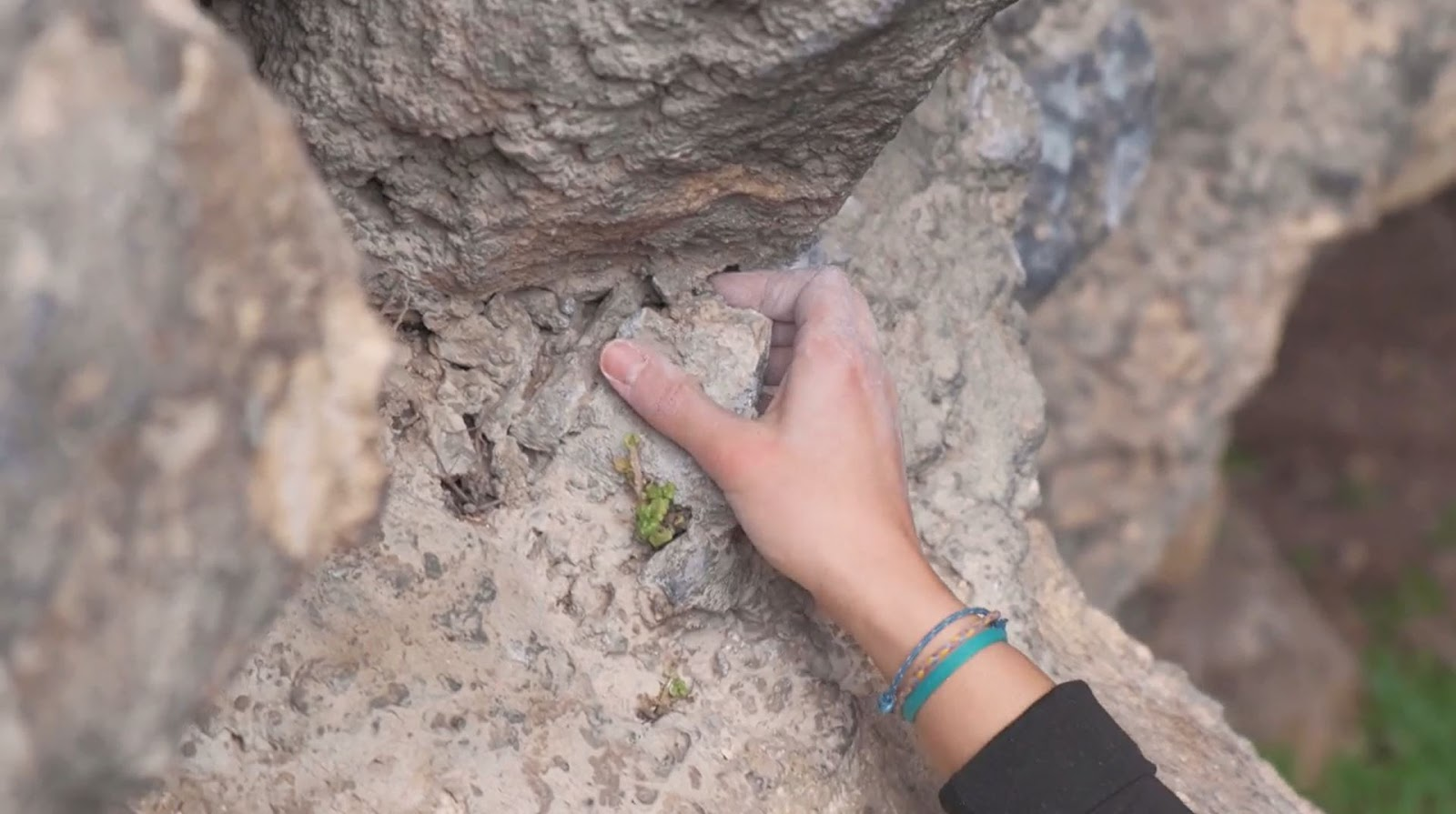 Kaya Tırmanış Teknikleri Pinch