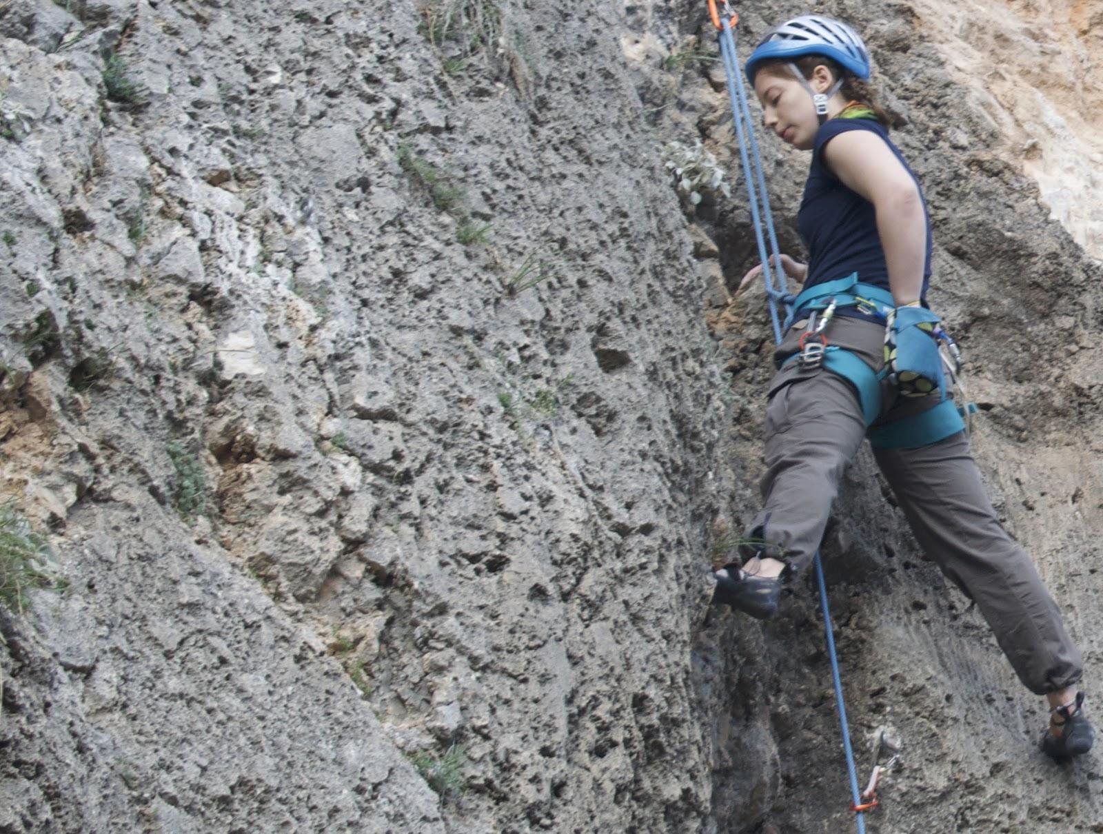 kaya tırmanışı teknikleri baca tekniği stemming