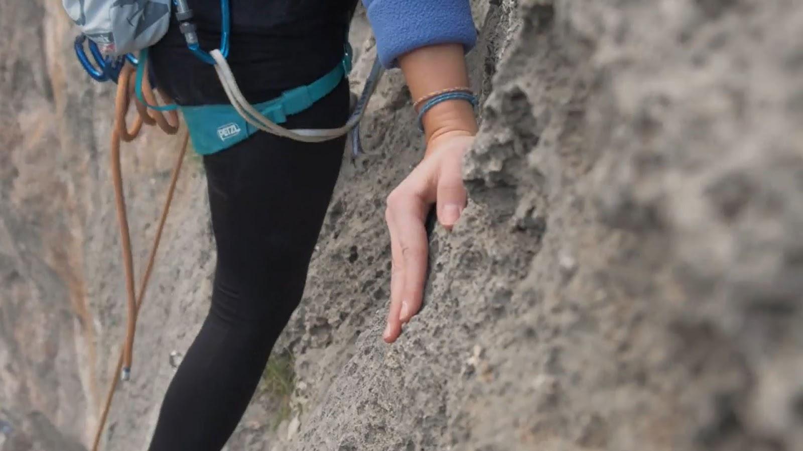 kaya tırmanışı teknikleri palming