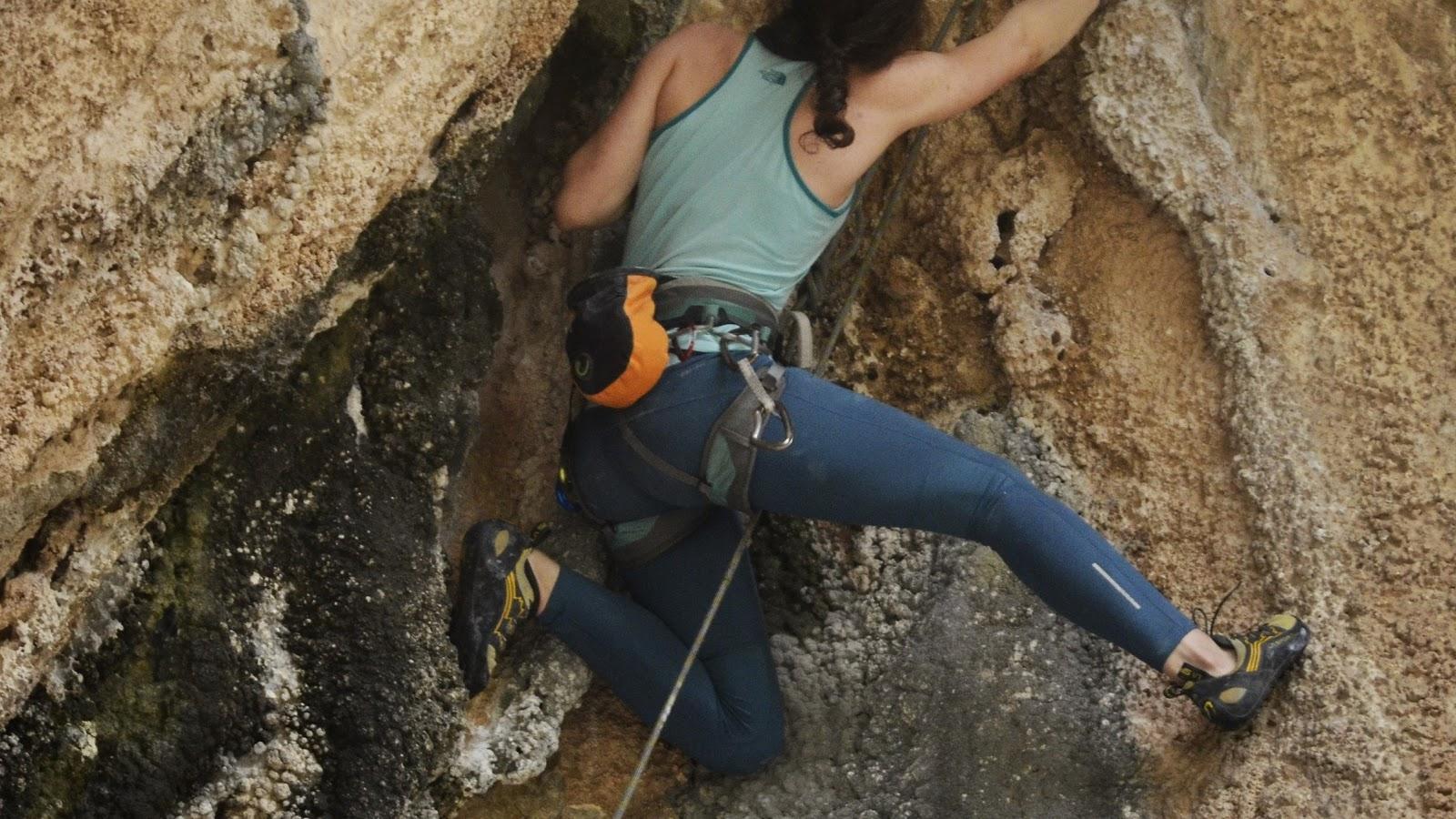kaya tırmanışı teknikleri diz düşürme drop knee