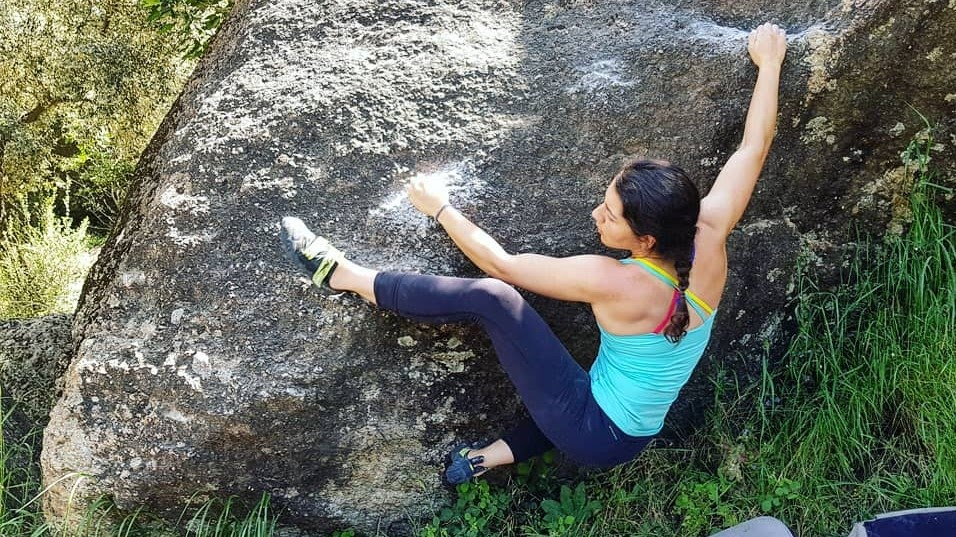 kaya tırmanışı teknikleri topuk takmak / heel hook bouldering bafa