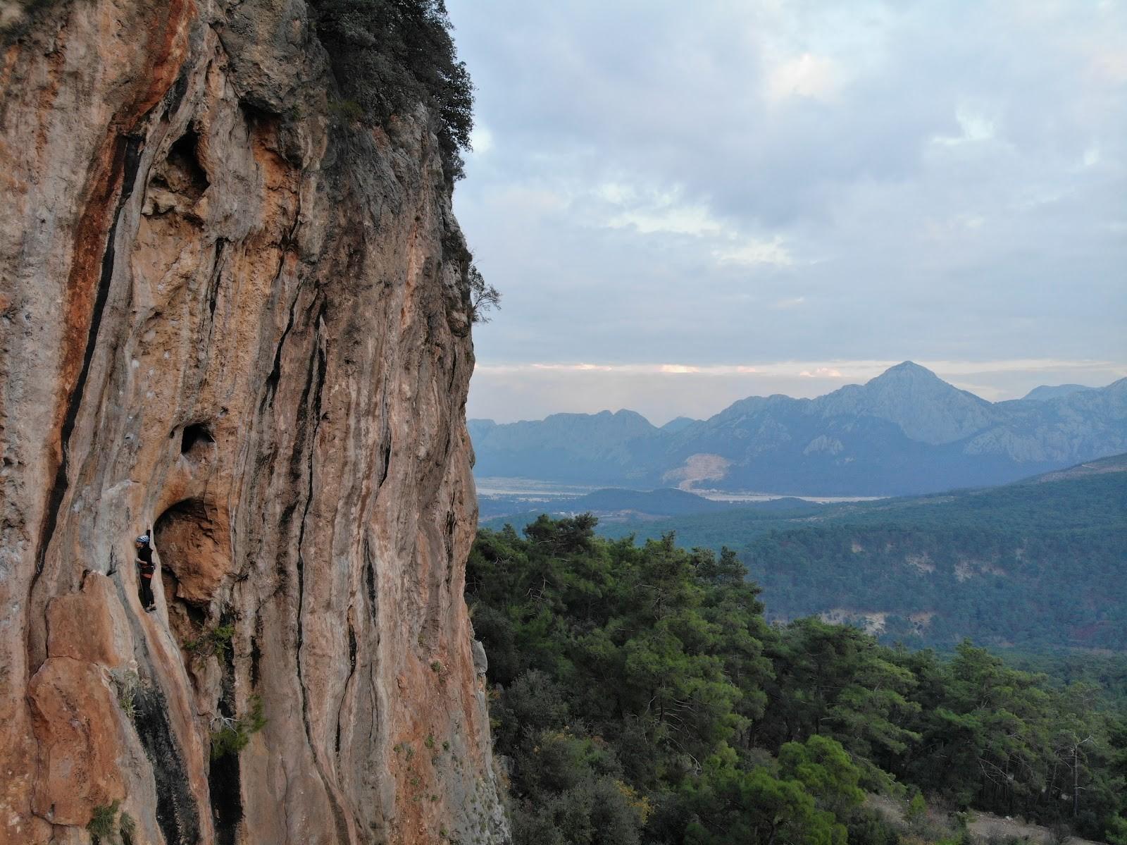 Elif ayata geyikbayırı kaya tırmanışı antalya