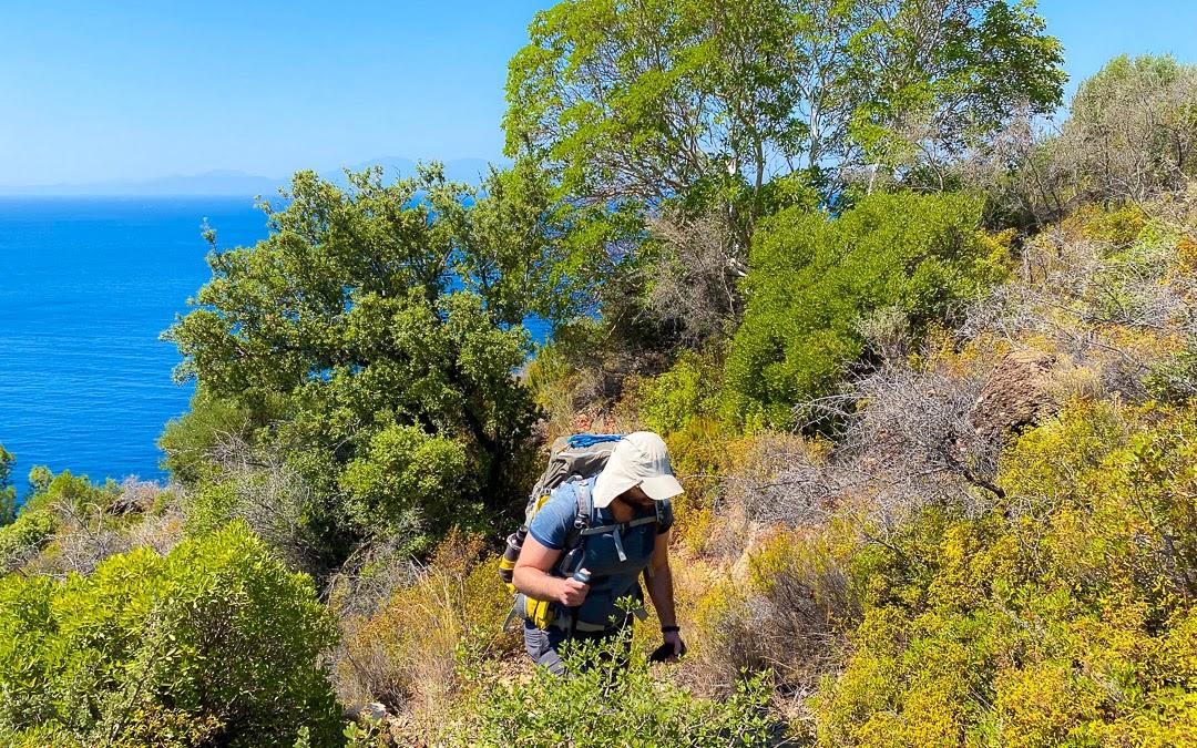 H. Bahadır Çolak Karia Yolu Temmuz Trekking