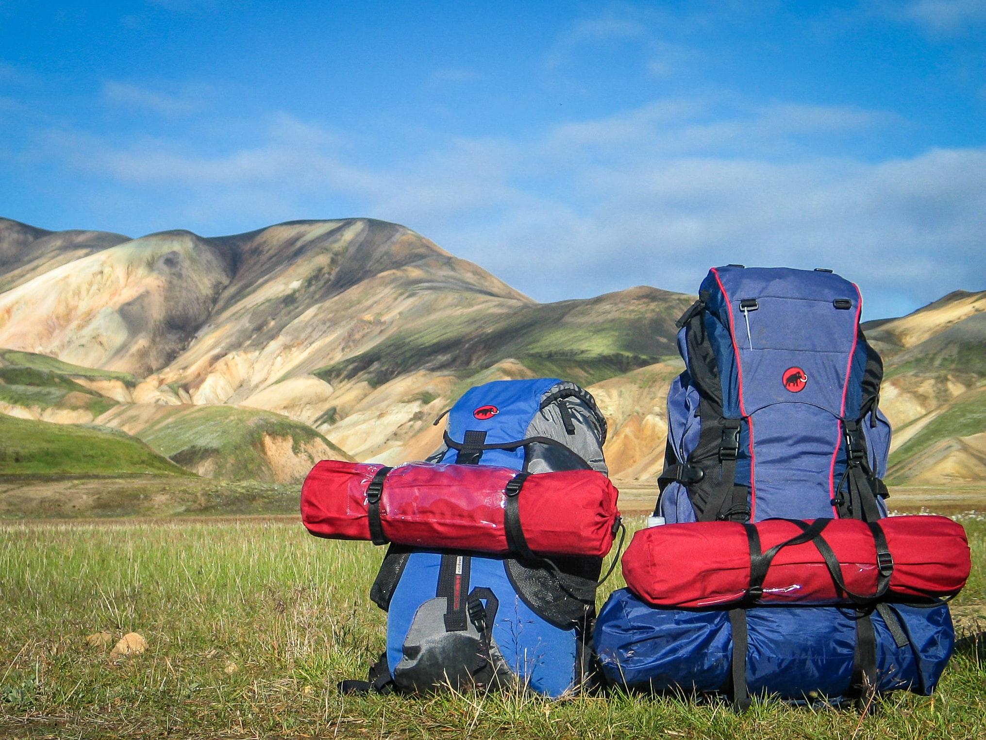 Trekking& doğa yürüyüşü malzemeleri sırt çantası