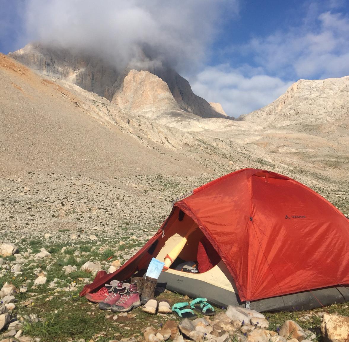 Trekking - doğa yürüyüşü malzemeleri çadır