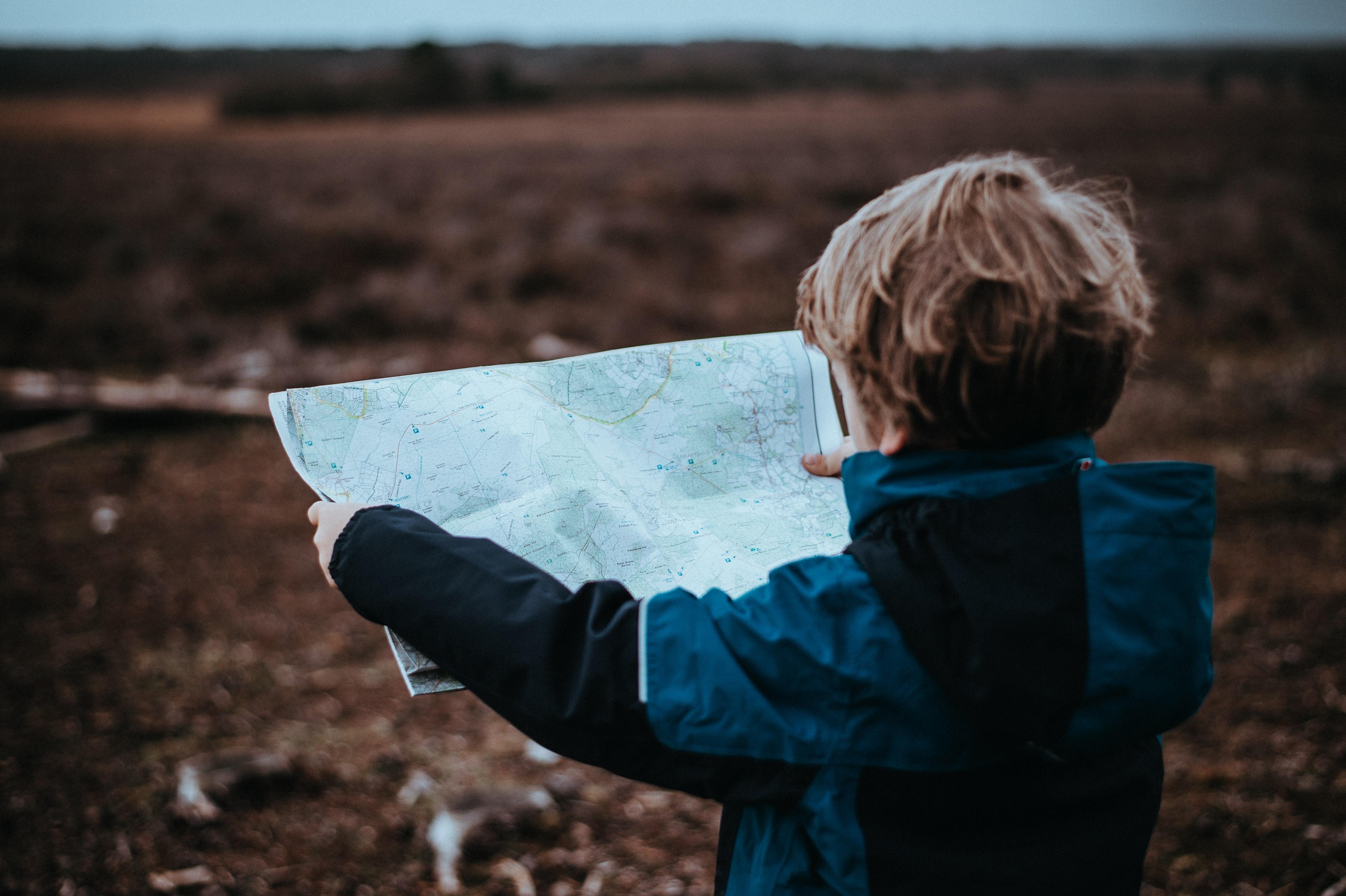 harita hiking trekking doğa yuruyusu