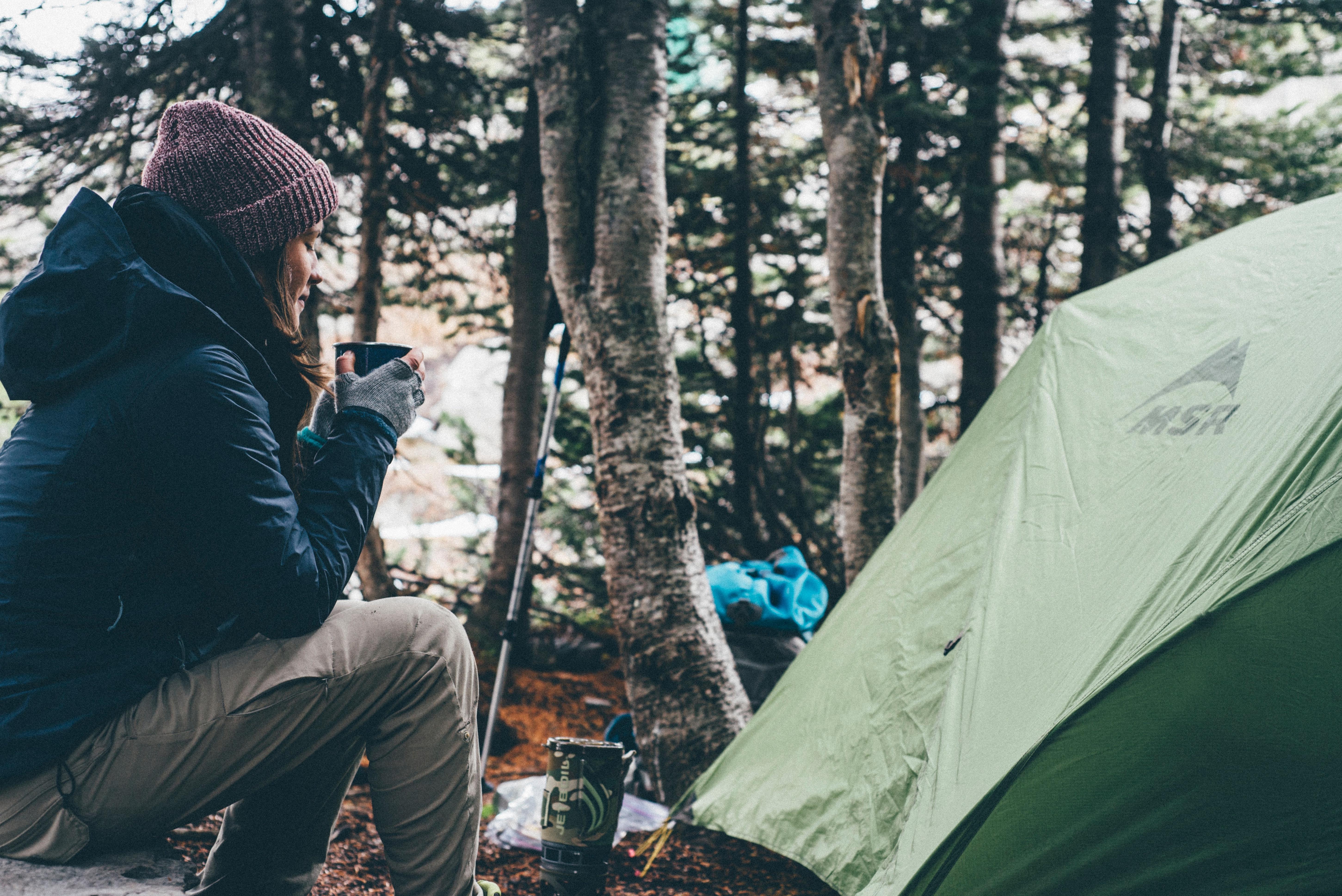 kamp yapmak doğa trekking