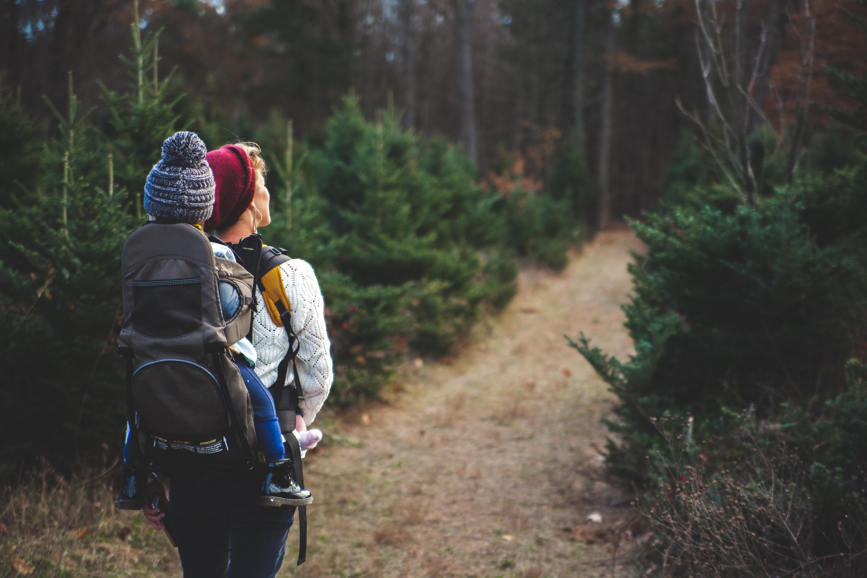 hiking trekking doga yuruyusu çocuk aile