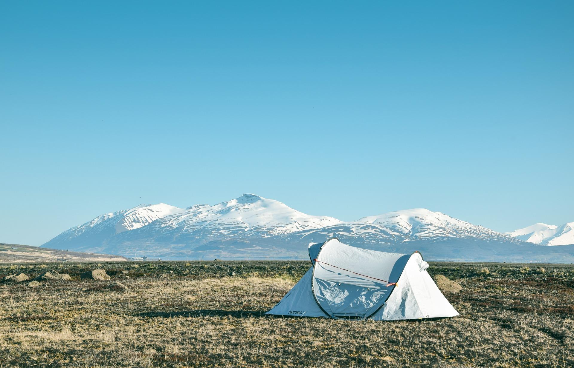 çadır doğa dağ