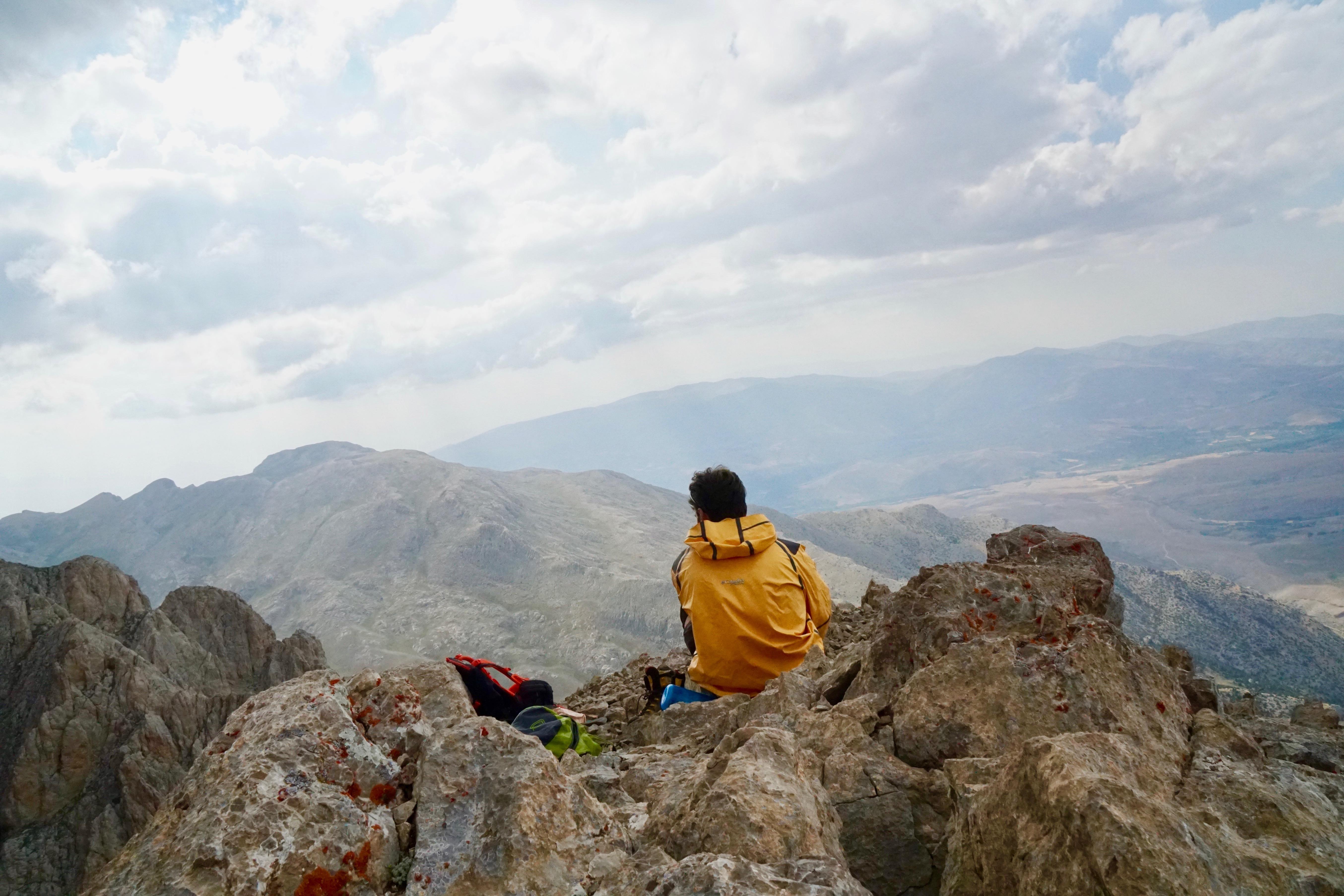 batuhan atılgan aladağlar mangırcı dağı zirvesi